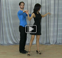 Salsa dance steps